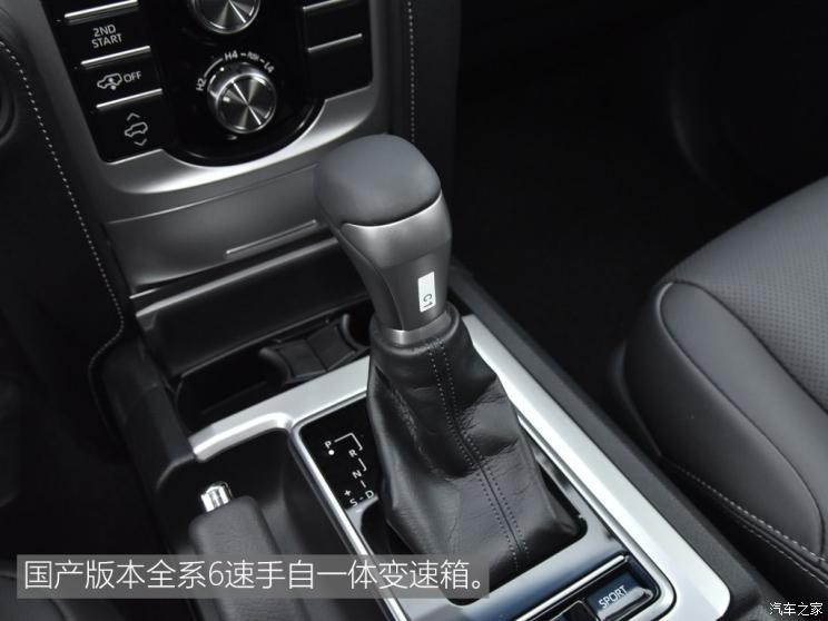 一汽丰田 普拉多 2018款 3.5L 自动VX NAVI